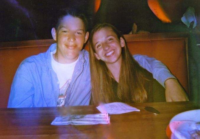 Clayton and Ellen Kershaw in junior high, before I started expecting them to live their lives for my child.